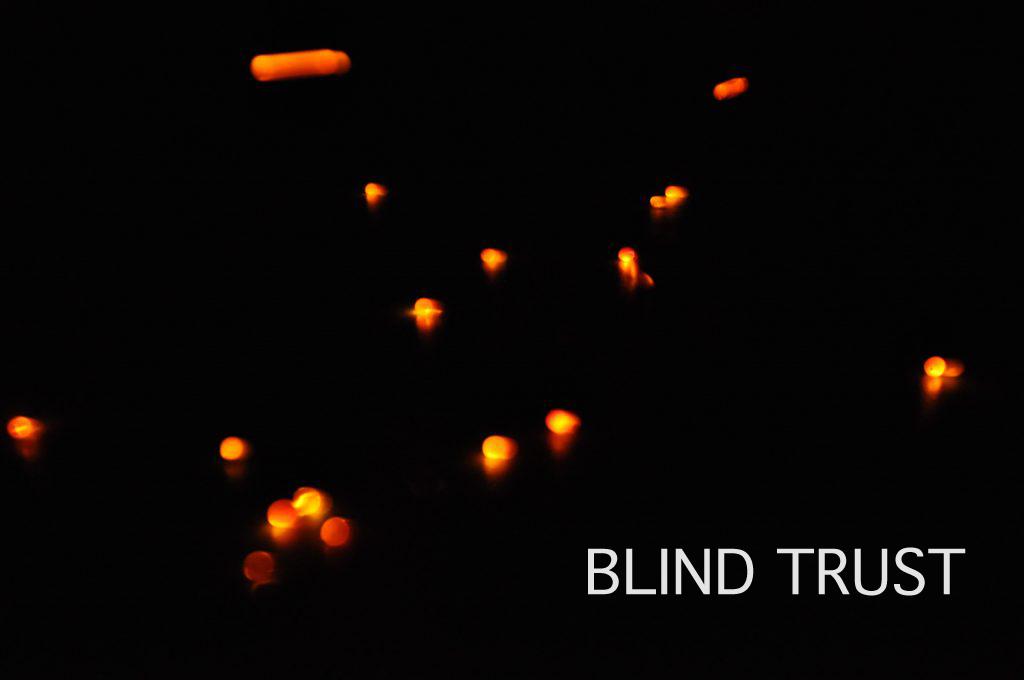 Milka Pan's Blind Trust Cover